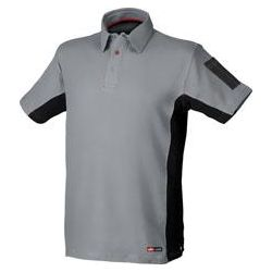 POLO ALGODON STRETCH GRIS M