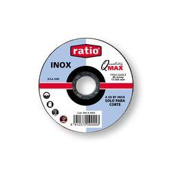 DISCO CORTE INOX/METAL 125X1  RATIO
